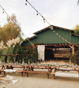a four stable barn at two sisters farm, one of our top 5 temecula wedding venues