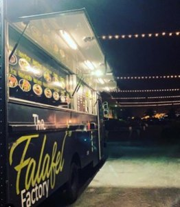the falafel factory is one of the best southern california food trucks